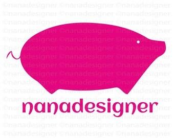pink piggy  logo