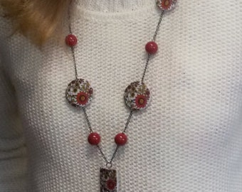 Necklace in Ukranian style