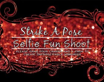 Strike a pose A3 poster