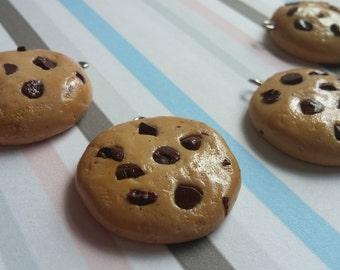 Cute Chocolate Chip Cookie Charm