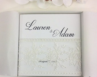 Boxed Lace Wedding Invitations, Romantic Themed Invitations, Lace Wedding Invitations, Vintage Lace Wedding Invites, Lace, 25 INVITATIONS