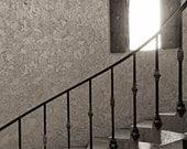 Spiral Staircase Sepia, A...