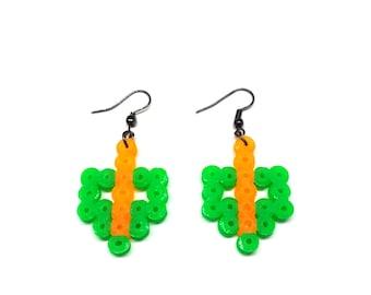 Green Arrow Earrings