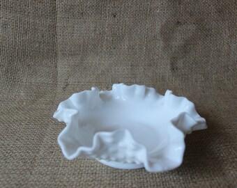 Milk White Candy Dish, #465