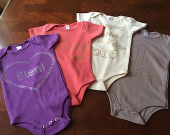 Blinged onesies