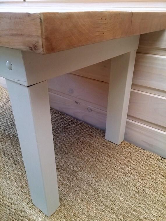 Table basse artisanale rustique moderne bois massif brut # Table Bois Massif Moderne