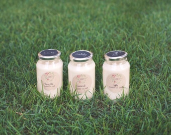 Caramel | Scented Soy Wax Jar Candle