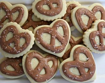 Pretzel Sugar Cookies