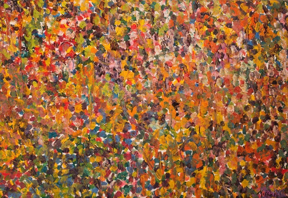 """Print of """"The Gathering"""" 66"""" x 90"""" By Bruce Mishell (2010)"""