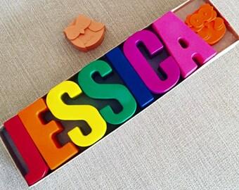 7 Letter Crayon Name Box Set