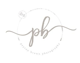 Photography Logo, Premade Logo, Graphic Design, Business Logo, Logo Design, Initials Logo