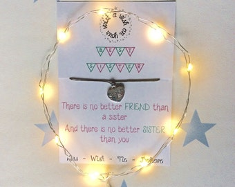 A Wish on Your Wrist ~ Sister