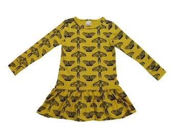 drop waist dress in moth: 6/7