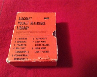 Aircraft Pocket Reference Library volume 1 thru 8