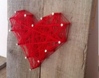 Heart Strings Wall Art