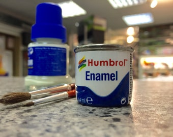 Matt White Enamel Paint 14ml - Humbrol/Hornby (34)