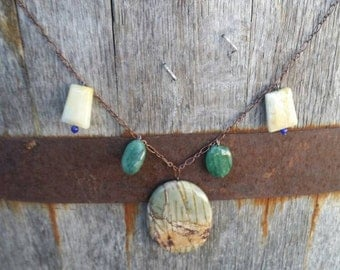 Picture Jasper Story Necklace