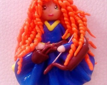 Necklace Merida (Rebel/Brave)