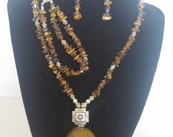 Mother Earth Homemade Jewelry Set