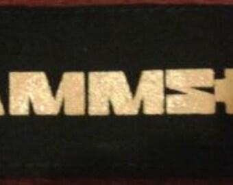 RAMMSTEIN (617) metal punk goth patches