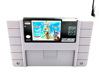 Dragon Quest Snes Collection - Snes Reproduction - Snes Repro, Dragonquest, Snes Multicart