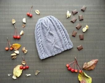 BIG SALE 50 % men's knit cap men knit hand hat Gray men knit wool hat Gray men Slouchy Hat spring hat men Slouchy Beanie cap men Warm