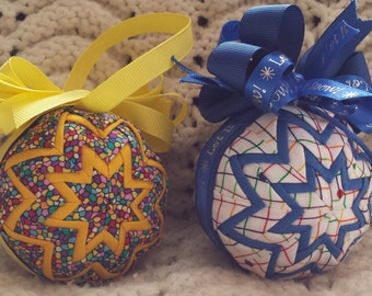 Quilted Ornaments (Item OR050)