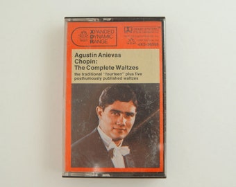 Tested AGUSTIN ANIEVAS Chopin The Complete Waltzes Vintage Piano Music Cassette Tape