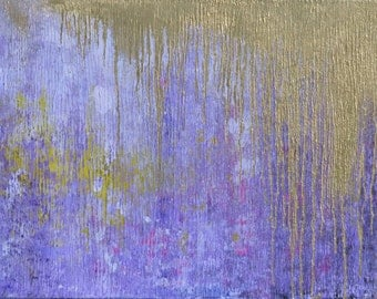 Royalty 24x48 ORIGINAL acrylic painting on gallery wrapped canvas