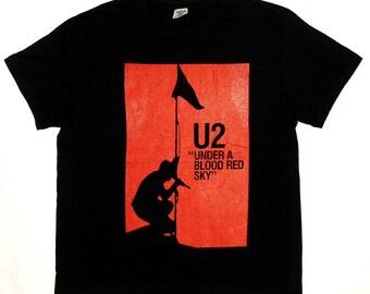 U2 T-SHIRT Under A Blood Red Sky