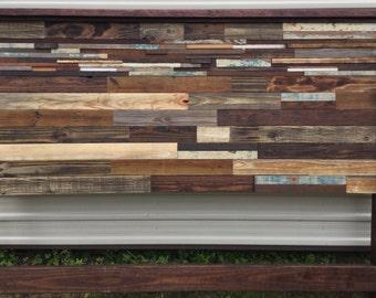 King Size Reclaimed Wood Headboard