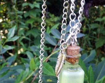 Fantasy Terrarium Glow Necklace