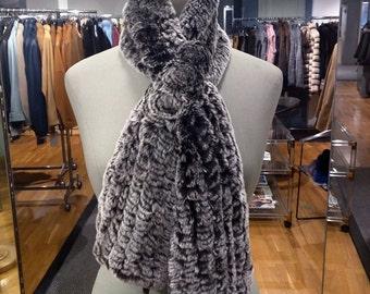 Elegant scarf knitted Rex