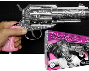Western Magnum Gun Hair/Blow Dryer Pistol Pink Jerdon Model 357