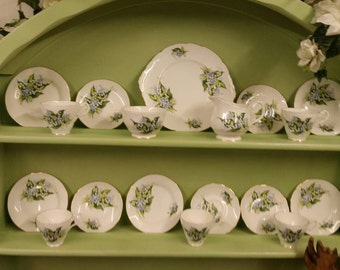 Lilly of the Valley Tea Set