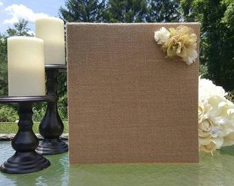 Custom Burlap Deluxe Wedding Planner   Wedding Planning Binder