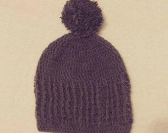 Crochet Bobbled Beanie