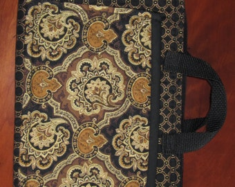 Android or Ipad Zippered Tote