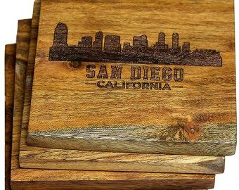 San Diego, California Skyline Coasters