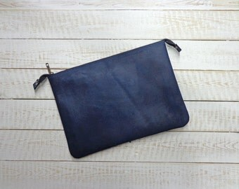 Leather clutch, leather iPad case, women bag purse, men leather bag, iPad sleeve, leather clutch purse, leather handbag, leather iPad bag