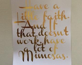 Blair Waldorf Quote. Gossip girl. Gold Foil A4 Print!