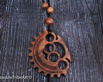 Gear Knuckleduster Pendant