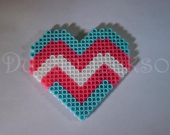Transgender Flag Heart Magnet