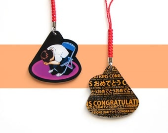 Neon Genesis Evangelion Shinji Congratulations Charm