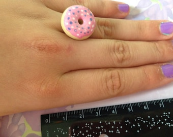 ring super cute with a donut