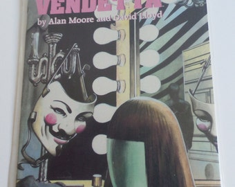 V for Vendetta by Alan Moore and David Lloyd Vol. 1 of X
