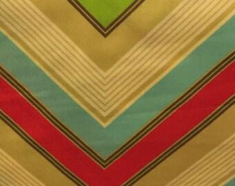 Free Spirit Fabric,Heather Bailey, POP GARDEN, Zig Zag Stripe