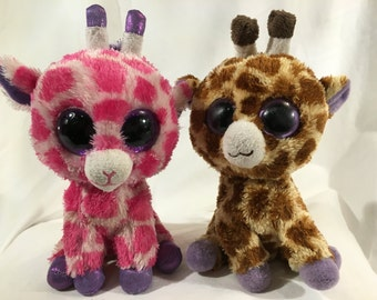 TY Beanie boo Giraffe duo