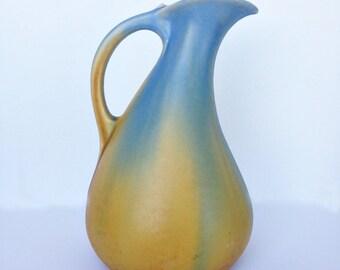 Stunning Art Nouveau Pottery Vase - Faiencerie Thulin Belgium