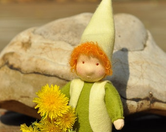 Waldorf gnome // Waldorf toys // Waldorf doll// Nature table